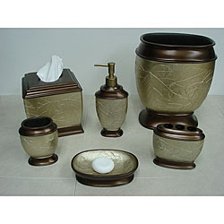 Sherry Kline 'Hemingway' Bath Accessory 6-piece Set