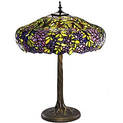 Tiffany-style Vine Table Lamp