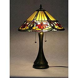 Tiffany-style Ambrosia Table Lamp