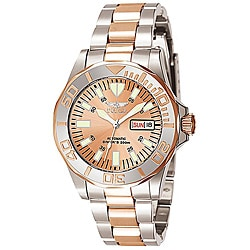 Invicta Men's Signature Automatic Rose Goldtone Two-tone Watch