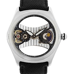 Akribos XXIV Men's Plotos Mechanical Floating Bubble Watch