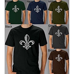 Los Angeles Pop Art Men's Fleur De Lis T-shirt