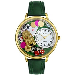 Whimsical Unisex 'Casino' Theme Watch