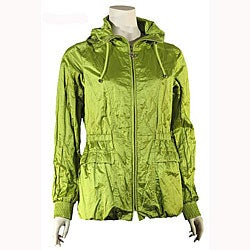 Betsey Johnson Women's Acid Green Anorak