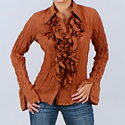 Kaelyn Max Women's Button-down Blouse