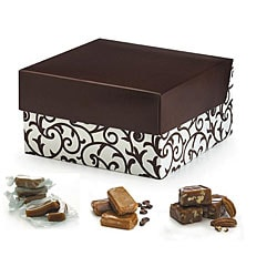 Vanilla, Pecan and Espresso Caramels 24-oz Gift Box