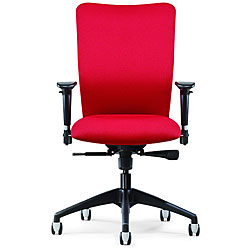 Allseating Inertia Red Midback Task Chair