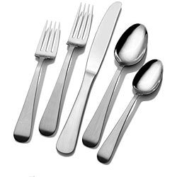 Mikasa Gourmet Basics Satin Tanner 45-piece Flatware Set