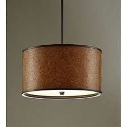 Autumn Brown 16-inch Chandelier