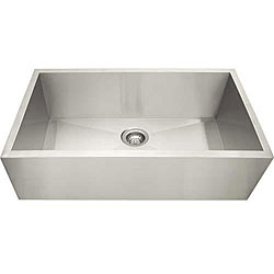 Ticor Stainless Steel 16-gauge Apron Undermount Kitchen Sink