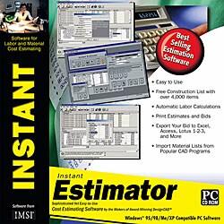 Instant Estimator Productivity Software