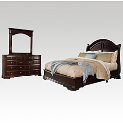 Dupioni 3-piece Queen Bedroom Set