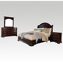 Dupioni 4-piece Queen Bedroom Set
