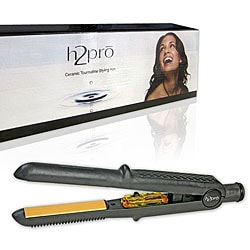 H2Pro 109YVI 7/10-inch Domed Ceramic Tourmaline Styling Iron
