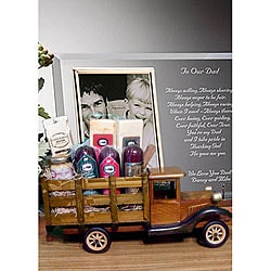 Antique Truck Gift Basket