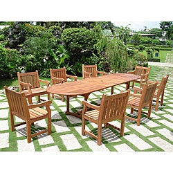 Vista 9-piece Dining Set