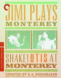 Jimi Plays Monterey & Shake! Otis At Monterey (Blu-ray Disc)