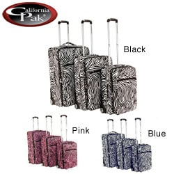 CalPak Safari 3-piece Expandable Luggage Set
