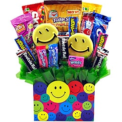 Sweets in Bloom 'Smile You're on Candy Camera' Gift Basket