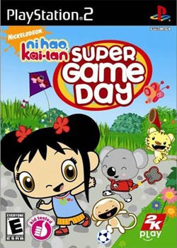 PS2 - Ni Hao, Kai-lan: Super Game Day