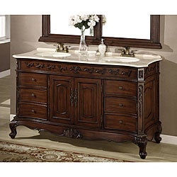 ica furniture christina bathroom double vanity 12112022 overstock