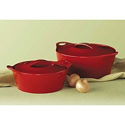 CorningWare Creations Ruby 4-piece Bake and Serve Set