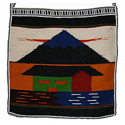 Handmade Wool Messenger Bag (Ecuador)