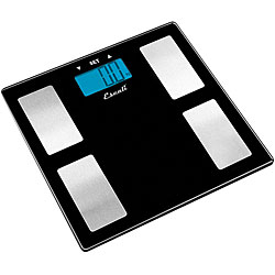 Escali Glass Body Weight BMI Scale