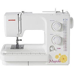 Janome 7318 Magnolia New Sewing Machine