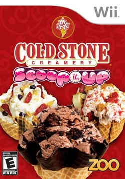 Wii - Cold Stone Creamery: Scoop It Up