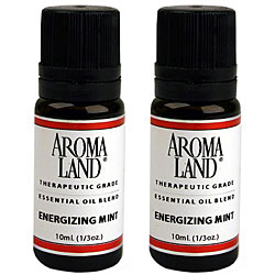 Aromaland Energizing Mint 10 ml Essential Oils (Pack of 2)