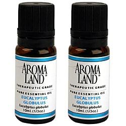 Aromaland 10 ml Eucalyptus Globulus Essential Oils (Pack of 2)