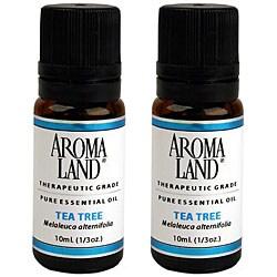 Aromaland Tea Tree 10 ml Essential Oils (Pack of 2)