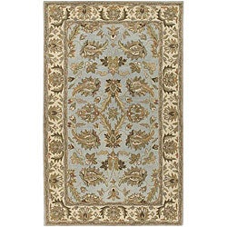 Hand-tufted Ariel Collection Wool Rug (5' x 8')