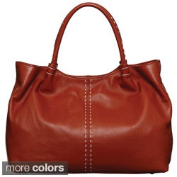 Presa 'Addison' Large Leather Tote Bag
