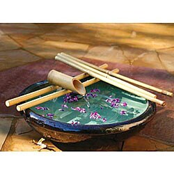Five-arm 18-inch Bamboo Water Spout and Pump Kit (Vietnam)