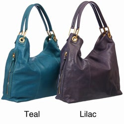 Presa 'Colette' Large Leather Hobo Bag