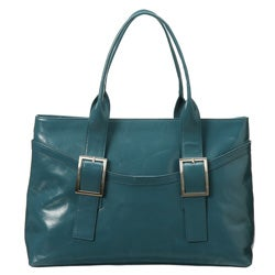 Presa 'Bloomsbury' Large Leather Tote Bag