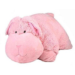 Super Soft 32-inch Rabbit Floor Cushion