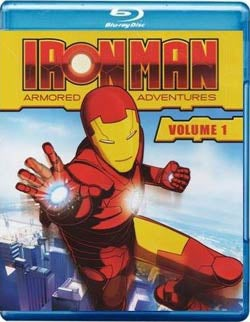 Iron Man: Armored Adventures Volume 1 (Blu-ray Disc)