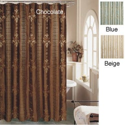 Fleur de lis shower curtain 12134102 shopping great deals on shower curtains - Fleur de lis shower curtains ...