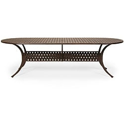 Oval 102-inch Patio Dining Table