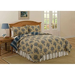 Dartmouth Court Cotton 3-piece Quilt Set