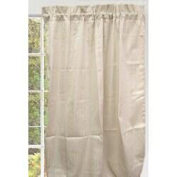 Pinstripe 84-inch Curtain Panel Pair