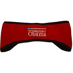 Barack Obama Red Snow Cap