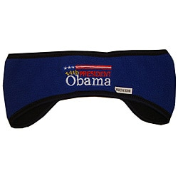 Barack Obama Blue Snow Cap