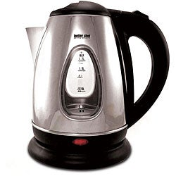 Better Chef 7-cup Stainless Steel Cordless Electric Water Kettle