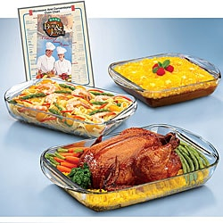 Anchor Hocking Expressions 5-piece Ovenware Set (Pack of 3)