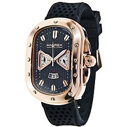 Haurex Italy Men's Ricurvo Rose Goldtone Watch