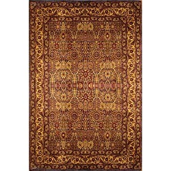Manhasset Agra Brown Viscose Rug (3'2 x 4'7)